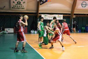 U15 GOLD a un soffio dall'impresa contro Malaspina (50-54), 5 mar 2016