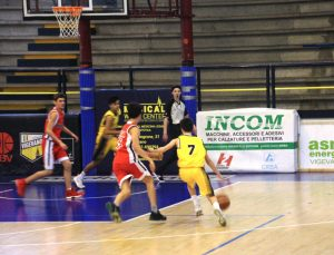 Cat Vigevano vs Basketown 11-03-2017