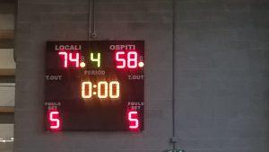 U18 GOLD: BASKETOWN 74 – ASD BK VALCERESIO 58