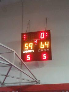 Serie C Ritorno alla vittoria:Basketown-Ussa Nova 64-59