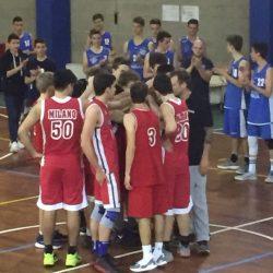 U18 UISP AI PLAYOFF INFRANTO IL SOGNO DELLA FINALE BTM – BASKET PIOLTELLO: 60 – 74