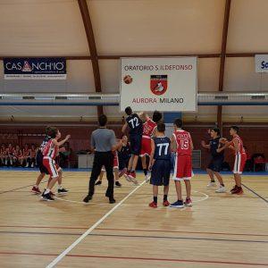 Aurora U14: 48-57. Prima bellissima vittoria per i nostri giovani Belk.
