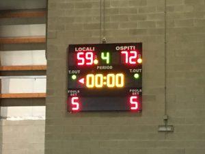 "U16 FIP: ""Niente da fare!"" Basketown-Vivisport   59-72"