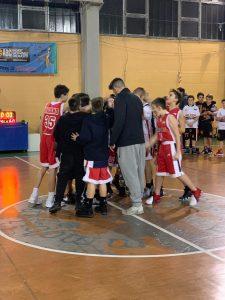 Gli under 13 sconfitti da Ombriano Basket (60 – 64)