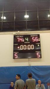 Serie C silver OSA-Basketown 74-56  Grinta, cuore, voglia… ma non basta.
