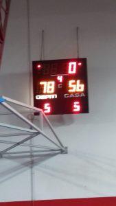 Serie C silver Basketown-Villasanta 56-78  Notte fonda, BT!