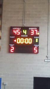 Gli Under 13 non si fanno intimorire  dalla fisicità dell'Ombriano basket ( 45-37)