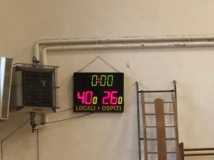 Esordienti Blu: magnifica vittoria con Urania (40 – 26)!