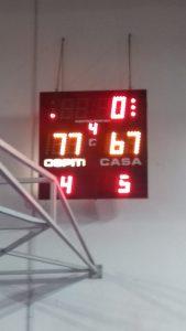 Serie C Silver: Basketown-Ebro 67-77 Problemi di segnale