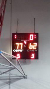 Serie C: disfatta in casa contro Sedriano (62-77)