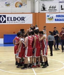 "U16 FIP: gara 2 ""Fuori dai play off -partita regalata"" Orsenigo-Basketown 62-38"