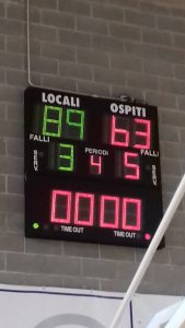 Serie C: dura lezione a San Martino. Old Socks -Basketown 89-63