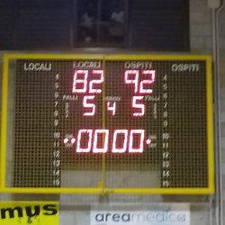 Serie C: vittoriosi a Sedriano 82-92