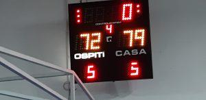 Serie C: Basketown-Novate 79-72
