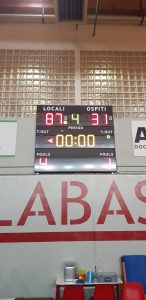 U20: NO COMMENT(MILANO TRE ROSSO – BASKETOWN 87-31)