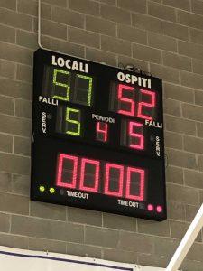 Serie C: decimati, perdiamo a Somaglia (57-52)